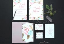 CINDY & ARDIAN WEDDING INVITES by Pentone Craft and Paper
