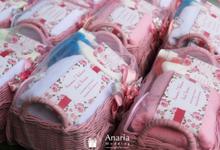 Hampers Siraman  Ayudia & Agung by Anaria Souvenir Pernikahan