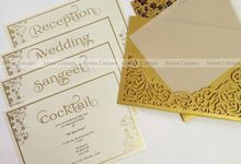 Designer wedding invitations collection by SEVEN COLOURS CARD