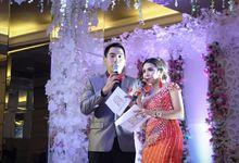 ANDREA & AMEL WEDDING AT GARDEN PALACE by Aldo Adela MC & Magician