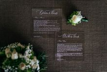 Fian And Winna Wedding (Preparation) by White Roses Planner
