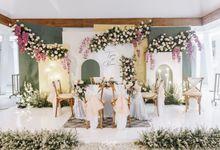 The Wedding of Tyas & Bani by Elior Design