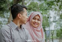 Prewedding Reza & Achi by AHR Studio