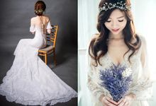 Bride & Gowns by Cang Ai Wedding