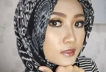 Hijab Makeup for Ms.Isti by Vivi Esther Makeup Artistry