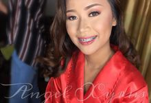 HD hair & airbrush make-up (bridal) by angel xyrus professional hmua