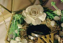RING BOX TERRARIUM by YnR Craft