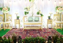 WEDDING MODERN/RUSTIC by Zaky Decoration