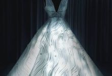 GLOW in the Dark Wedding Gown by METTA FEBRIYAN bridal & couture