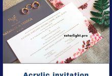 Acrylic invitation by starlight.pro