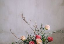 Floral arrangements by Nina Nasution