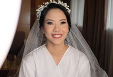 Wedding Caroline by Geraldine Makeup Artist