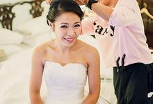 Editorial and Pre Wedding Bridal Makeup by Melissa  Yeo