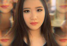 Imel Vilentcia (Makeup Jahit Mata) by Eilene Make Up Artist