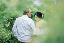 prewedding outdoor by White Make Up and Hair Do