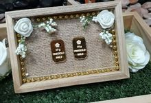 Rustic Tray - wooden by Freesia Seserahan