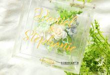 Daniel & Stephanie Wedding Ring Box by Coruscant.id