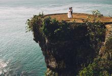 Majestic Bali Landscapes for Prewedding of Albert & Devi by fire, wood & earth