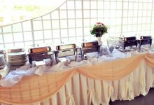 Wedding Set up by Chef Eiron's Food and Catering