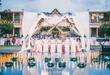 Wedding of Daniel & Melia by Bali Yes Florist