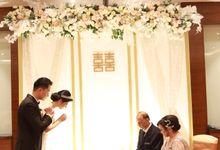 MC Wedding Intimate at swissotel Jakarta by Anthony Stevven MC by Anthony Stevven