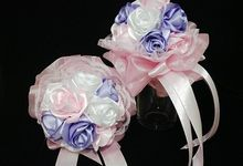 Hand bouquet & Doll bouquet by bantalcincin