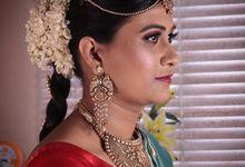 South Indian Bride by Renuka Krishna