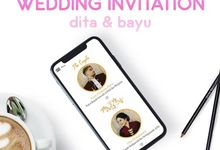 Wedding Invitation Dita & Bayu by Hadiryaa (Web & Mobile Invitation)