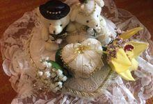 Petrus Dyna wedding day by Serenity wedding organizer