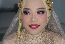 Dr Pita wedding by White Make Up and Hair Do