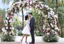 Joe & Julie Taslim 10th Wedding Anniversary by Millevoile