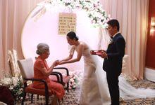 MC Wedding Intimate Alto Restaurant Four Seasons Jakarta - Anthony Stevven by Anthony Stevven