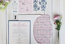Wedding Invitation Wonderland | Le Paperville by Le Paperville