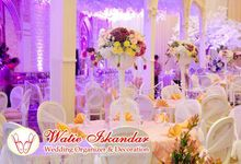 tema Padang dipadu dengan ukiran maroko by Watie Iskandar Wedding Decoration & Organizer