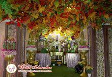 Tema Jawa Berhiasi Taman by Watie Iskandar Wedding Decoration & Organizer