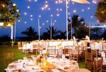 Garden wedding by Grand Hyatt Bali
