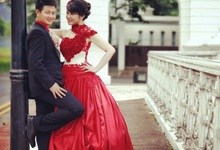 Red Rose Ballgown by AR Couture