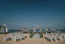 Scott & Jade Destination wedding in Viet Nam by Happierwedding