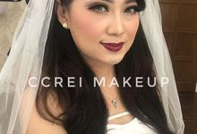 Trial Makeup Wedding by Ccreimakeup