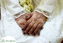 Natural Henna wedding's Rifqa by Hennabyherlina