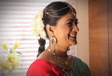 South Indian Bride by Renuka Krishna