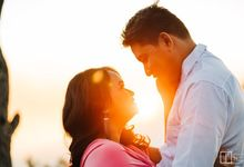 Sunrise pre wedding of Francis & Carla by Peach Frost Studio