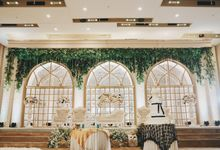 Andri and Marcella at Ahava Hall by She La Vie Organizer & Decoration