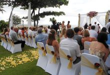 Romantic Beach Front Wedding of Lauryin & Cory by The Patra Bali Resort & Villas