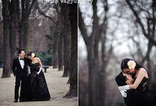 Engagement|Yuddy&Narita - Elegant Winter Love in Romancing Paris by The Wagyu Story
