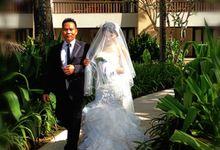 The Wedding of Timothy and Faith by AVAVI BALI WEDDINGS