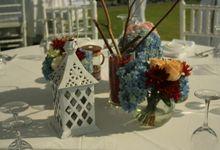 Maydream Plana & Craig Bennet Wedding by Dekor Indonesia