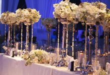 Dining Under A Thousand Stars by Flora Lines Decoration