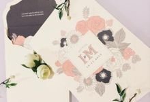 The Wedding of Igwan & Maria by PAM'S INVITATIONS & STATIONERY