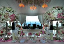 Romantic Blush Wedding in Bali by Flora Lines Decoration